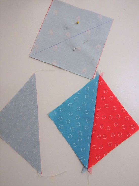 Half Triangle squares