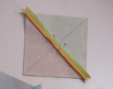 Quarter Square Triangle